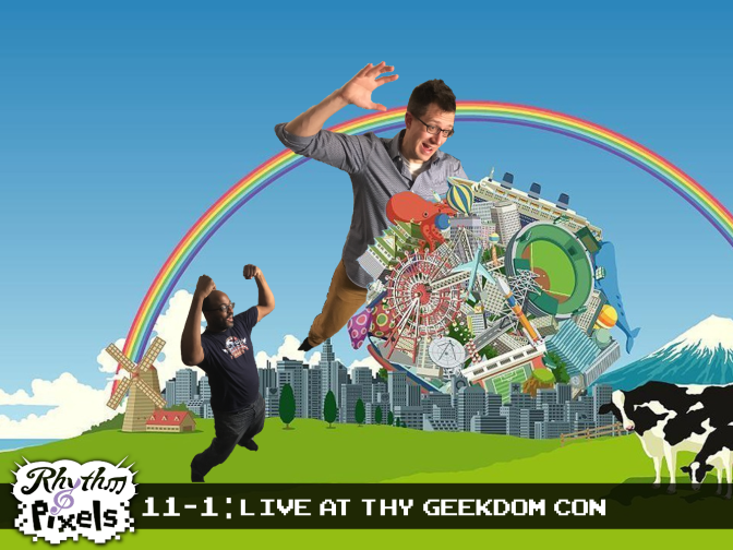 Episode 11-1: Live at Thy Geekdom Con!